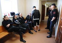 Музыканты Behemoth в Октябрьском райсуде Екатеринбурга. Фото: znak.com