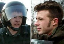 """Илья Гущин и его """"потерпевший"""""""