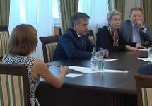 Встреча контактной группы в Минске. Кадр ОНТ
