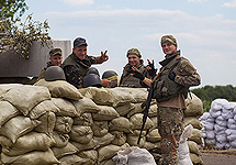 Бойцы Нацгвардии Украины. Фото с сайта http://vv.gov.ua/