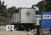 Грузовик Международного Красного Креста