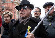 Андрей Макаревич на мартовском Марше мира. Фото Е.Михеевой/Грани.Ру