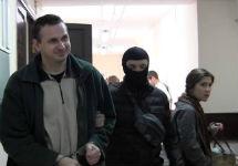 Олег Сенцов в суде. Фото: А.Новичков/Грани.Ру