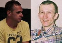 Олег Сенцов и Александр Кольченко. Фото: visti.ks.ua, ФБ-страница Александры Дворецкой