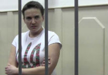 Надежда Савченко в Басманном суде. Фото А.Новичкова/Грани.Ру