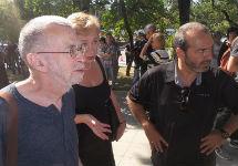Лев Рубинштейн и Виктор Шендерович. Фото: Грани.Ру