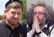 Рамзан Кадыров и Алексей Венедиктов