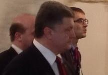 Петр Порошенко по окончании переговоров в Минске. Фото: @dimsmirnov175