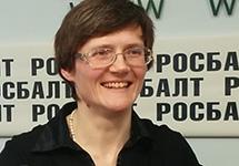 Светлана Давыдова на пресс-конференции. Фото: Грани.Ру