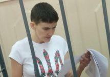 Надежда Савченко в Басманном суде 06.05.2015. Фото Ю.Тимофеева/Грани.Ру