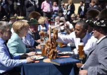 Меркель и Обама в Баварии. Фото: instagram.com/bundeskanzlerin