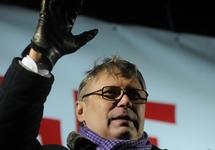 Михаил Касьянов на Пушкинской площади, 05.03.2012. Фото Ники Максимюк/Грани.Ру