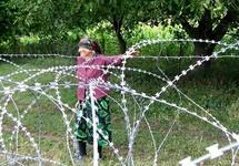 Незаконная граница Южной Осетии. Фото: kavkaz-uzel.ru