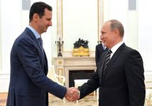 Башар Асад и Владимир Путин. Фото пресс-службы Кремля