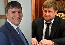 Константин Сенченко и Рамзан Кадыров. Коллаж Тайги.Инфо