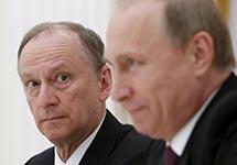 Владимир Путин и Николай Патрушев. Фото: ru.krymr.com