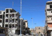 Ракка после российской бомбежки, ноябрь 2015. Источник: longwarjournal.org