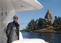 """Владимир Путин на яхте """"Олимпия"""". Фото: yachtrus.ru"""