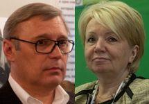 Михаил Касьянов и Эмилия Слабунова