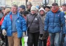 "На ""Марше против государственного террора"" в Петербурге. Фото Динара Идрисова"