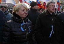 Эмилия Слабунова и Григорий Явлинский. Фото: yabloko.ru