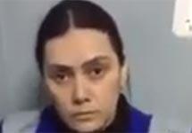 Гюльчехра Бобокулова. Кадр видеозаписи