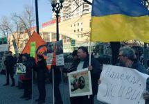 Пикет в Сокольниках. Фото: olga1982a.livejournal.com