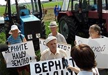 """Участники """"тракторного марша"""" на Москву. Фото: @melnichenko_va"""