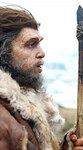 """Изображение еще одного """"вымершего неудачника"""" - неандертальца - с сайта BBC News"""