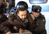 Задержание депутата Госдумы Ильи Пономарева. Фото Е.Михеевой/Грани.Ру