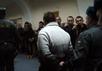 Николая Кавказского выводят из зала суда. Кадр Грани-ТВ
