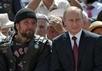 """""""Хирург"""" и Владимир Путин в Волгограде. Фото пресс-службы Кремля"""
