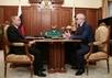 Владимир Путин и Александр Шохин. Фото пресс-службы Кремля.