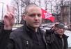 Сергей Удальцов у Мосгорсуда. Кадр Грани-ТВ
