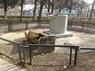 Обломки памятника Ленину в селе Приветное. Фото: 15minut.org