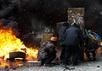 Столкновение на Грушевского. Фото Ю.Тимофеев/Грани.Ру