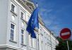 Флаг Евросоюза. Кадр Первого канала