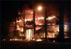 """Пожар в офисе """"Приват-банка"""" в Мариуполе. Фото novosti.dn.ua"""