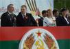 Рогозин с руководителями ПМР на параде в Тирасполе. Фото со страницы Рогозина в Facebook