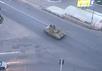 Российский танк в пригородах Донецка. Кадр видеоролика