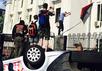 Митинг у российского посольства в Киеве. Фото @Kateryna_Kruk