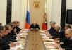 Заседание Совета безопасности. Фото пресс-службы Кремля