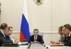 Совещание Дмитрия Медведева с вице-премьерами. Фото: government.ru