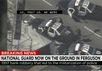 Полицейские автомобили в городе Фергюссон, США. Кадр CNN