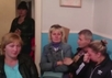 Родственники задержанных на Украине десантников. Кадр видеозаписи
