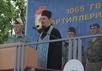 Молебен в 1065-м артиллерийском полку в Костроме перед началом летнего обучения, июнь 2014. Фото: kostromaeparhia.ru