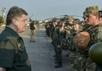Петр Порошенко и украинские военные. Фото: president.gov.ua