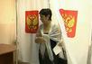 Единый день голосования 14 сентября. Кадр Первого канала