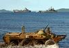 Высадка морской пехоты в заливе Анива, июль 2012. Фото: mil.ru