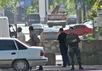 Блокпост террористов в центре Донецка. Фото: mungaz.net